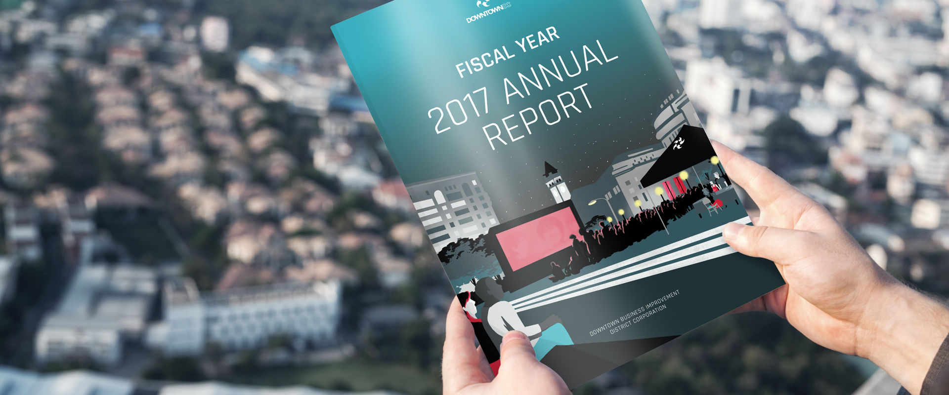 MOYA Showcases Branding Services for DowntownDC's Annual Report