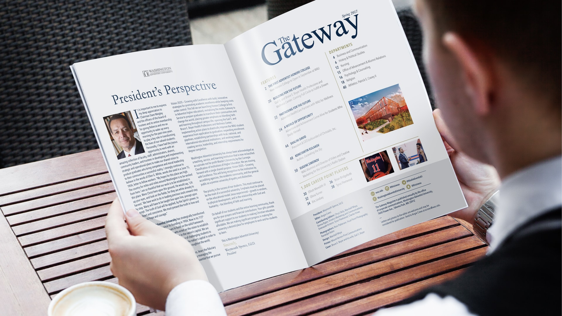 WAU The Gateway Magazine