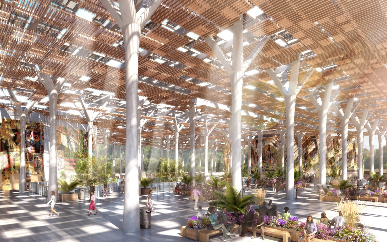 The Interior Design Is Spearheaded By Multidisciplinary Boutique Studio  Moya Design Partners. To Capture The Ever Present Breezes, Tree Groves, ...